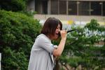 深田理恵さんはプロを目指して活動中