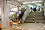 古川橋駅構内(2009.9.14.12:42頃)